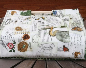 Insulated Casserole Carrier - Nature's Journal, Personalization Available