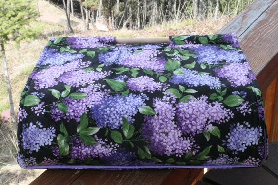 Insulated Casserole Carrier - Lilacs for Mother's Day, Personalization Available