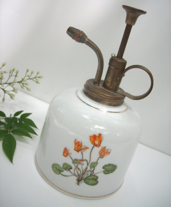 Vintage Porcelain Atomizer by Takahashi