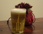 Citrus Breeze Scented Light Beer Candle