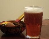 Scented Spiced Cider Dark Beer Candle