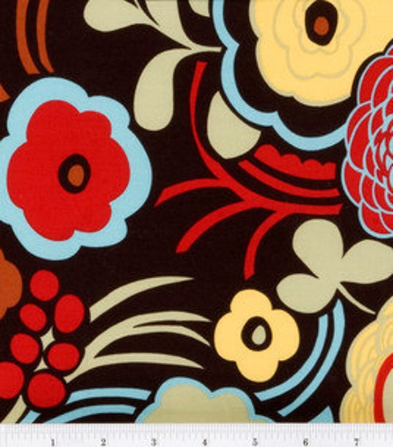 Mocca Print Fabric Cut by the Yard Alexander Henry Quilting Designer Cotton Apparell Children Fabric