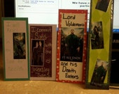 4 Harry Potter Bookmarks
