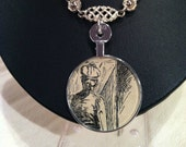 Antique Illustration Necklace 2
