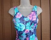 Ladies Baltex Swimsuit, Retro Style, Size M/L