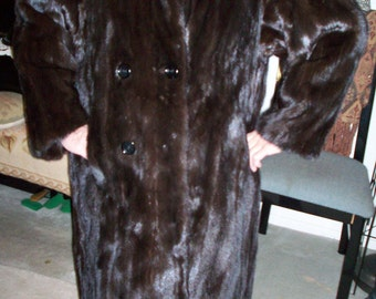 MINK Coat Unisex Excellent Quality NY made by SCHIFFMAN