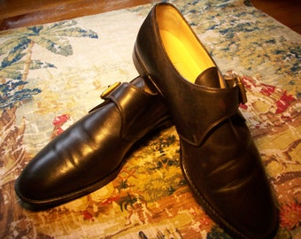 MANOLO BLAHNIK one & only... low shoe dark brown s 37 reduced