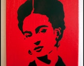 """Frida Kahlo 8""""x10"""""""