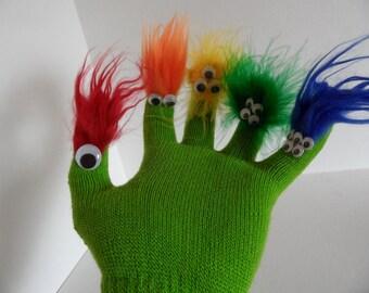 Monster Glove Puppet for Adoption