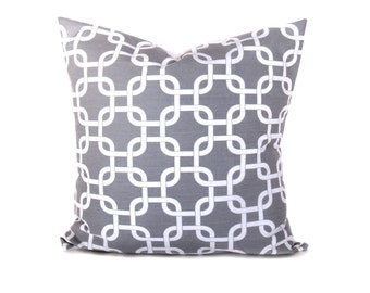 Gray Pillow Covers - Gray Pillow - Decorative Pillows - Decorative Pillow - Throw Pillow covers - Throw Pillows - Accent Pillows - Cushion