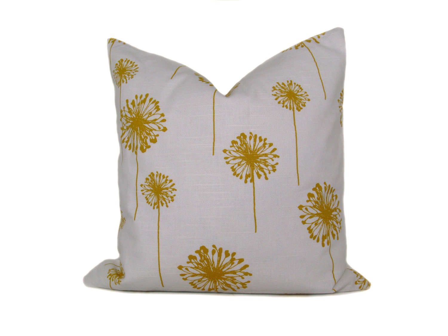 Decorative Pillows Etsy : Yellow Pillows. Throw Pillow Covers 18x18 Yellow by EastAndNest