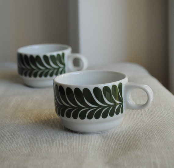 Vintage 1970s Thomas Rosenthal Coffee Cups