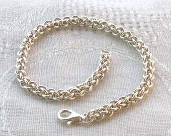 Jens Pind Silverfilled Chainmaille Bracelet
