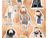 PRINT Game of Thrones by Mister Hope
