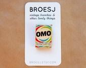 Omo Brooch Miniature Pin Detergent