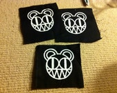 12cm x 12cm RADIOHEAD BEAR PATCH