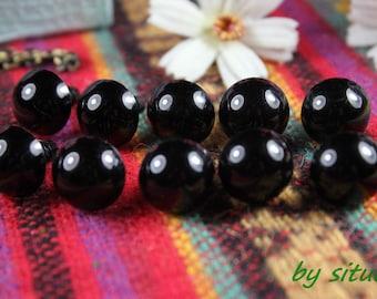 5 pairs 18mm Black  Toy Eyes Amigurumi Eyes  Safety Eyes for Corchet doll