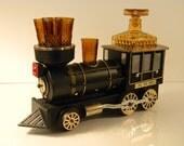 Vintage - Iron Horse Musical Locomotive Train - Liquor/Whiskey Decanter Set