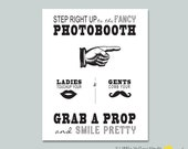 Old fashion Photobooth Sign