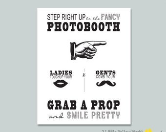 Old fashion Photobooth Sign