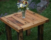 Farm Style Outdoor Dining Table From Reclaimed Lumber