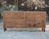 Rustic Cherry Console