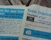 Free Shipping - Kodak Developing Charts