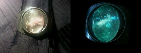 Glowing Elliptical Galaxy Bracelet