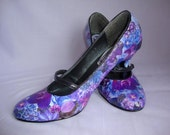Purple petals, previous pair - design can be replicated
