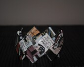 Comics Paper Origami Bangle - Dylan Dog - Eco Friendly