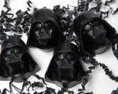 Soap Wars - Space Vador Kid Soap-  Child Party Favors - 8 Vader Soap Favors
