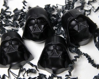 Soap Wars - Space Vader Kid Soap-  Child Party Favors - 15 Vader Soap Favors