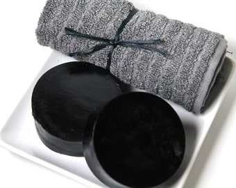 Activated Charcoal Detox Facial Soap with Lavender Essetial oil