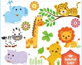 Buy 2 Get 2 Free ---- Baby Animals Set 1 ---- Personal and Small Commercial Use ---- BB 0015