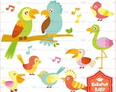 Buy 2 Get 2 Free ---- Singing Birds ---- Personal and Small Commercial Use ---- BB 0111