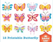 Butterfly Clip Art ---- Personal and Small Commercial Use ---- BB 0180
