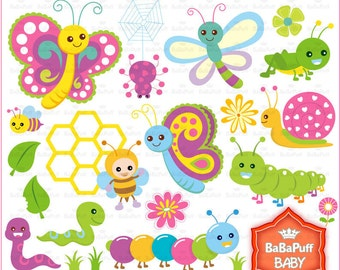 Caterpillars clipart – Etsy
