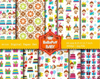 Buy 2 Get 2 Free ---- Digital Papers ---- Personal and Small Commercial Use ---- BB 0109