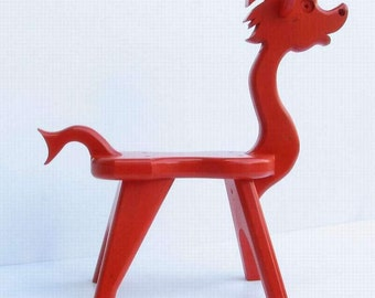 Dragon Stool