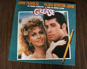 SALE-Take 25% off (Apply MEGASALE2012 coupon): Grease - The Original Movie Sound Track (RS-2-4002) - Original 1978 Press