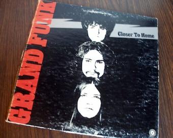 Grand Funk Railroad - Closer To Home ( SKAO-471) First Pressing 1970
