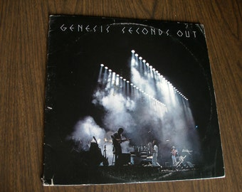 Genesis - Seconds Out  ( SD 2-9002) 1977