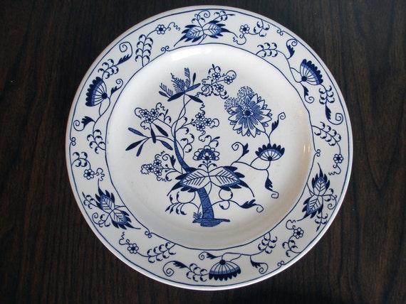Vintage Underglaze Doorn Plate by Royal China Inc.