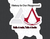 Assassin's Creed Abstergo DNA Mash Up
