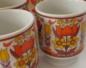 Retro Cup and Jug Set