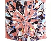 Facets - scarf (pink)