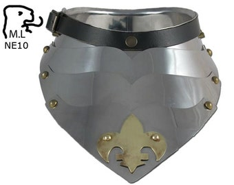 New Medieval style Gorget in stainless steel Armor Larp ne10