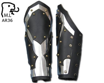 New armor Overlord  bracers in stainless steel AR36