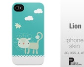 Lion - iPhone Case (Iphone 5, Iphone 4/4S/3GS)