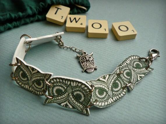 Owl Bracelet - Owl Jewelry